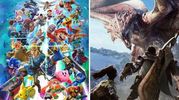 Imagens de Super Smash Bros. Ultimate e Monster Hunter World, vencedores do Famitsu Award 2018