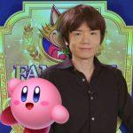 Masahiro Sakurai e Kirby, vencedores do Famitsu Award 2018