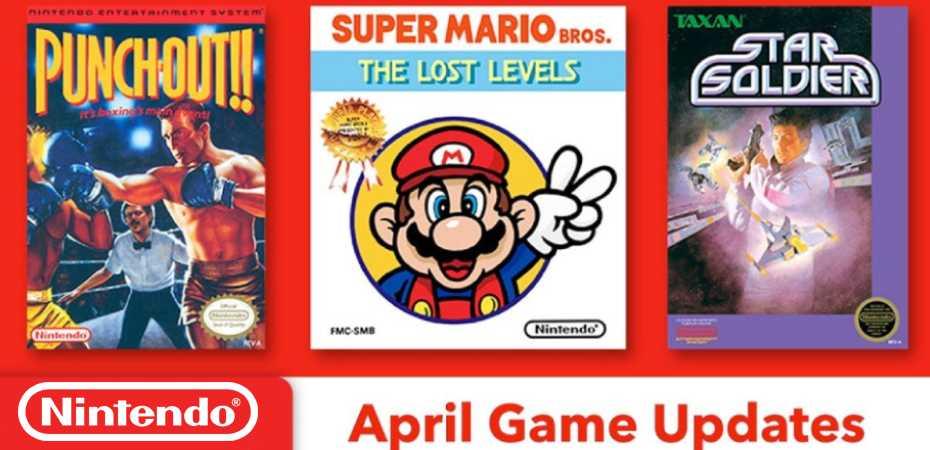 Revelados os próximos jogos do Nintendo Switch Online