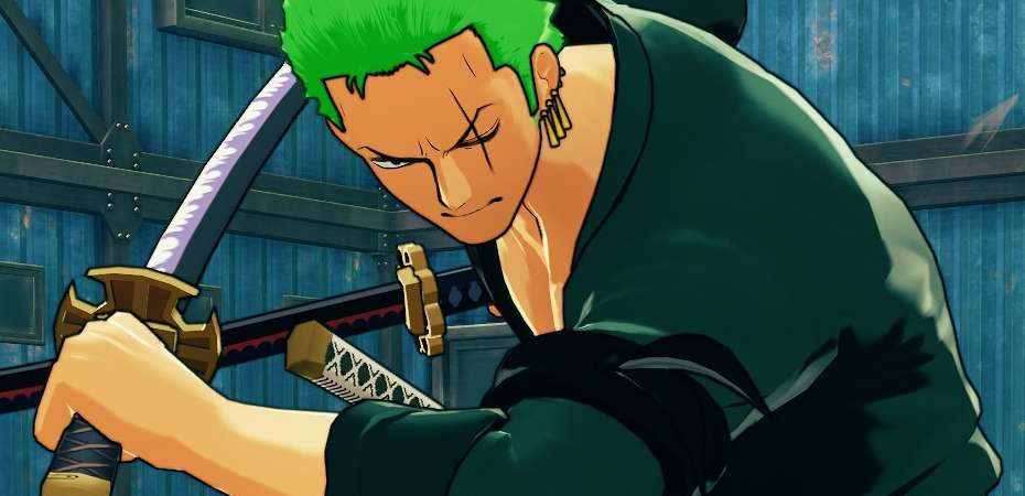 Screenshot de Zoro em One Piece: World Seeker
