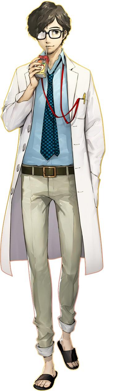 Arte do personagem Takuto Maruki de Persona 5 the Royal