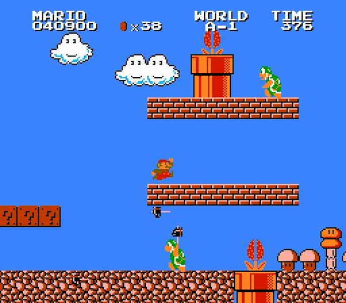 Screenshot de Super Mario Bros.: The Lost Levels