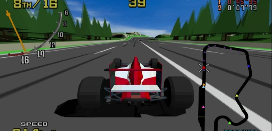 <i>Sega Ages: Virtua Racing</i> recebe data de lançamento japonesa
