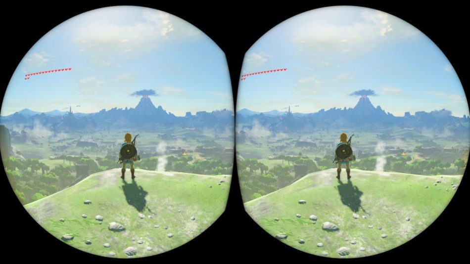 The Legend of Zelda: Breath of the Wild em modo de realidade virtual