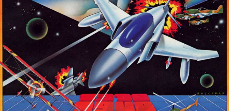 <i>Arcade Archives Time Pilot</i> é anunciado para Switch e PS4