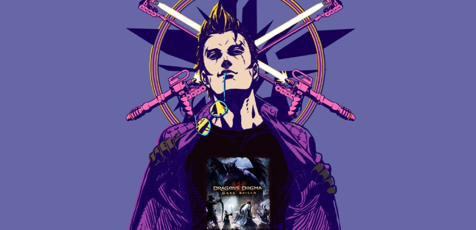 Arte de Travis Strikes Again: No More Heroes