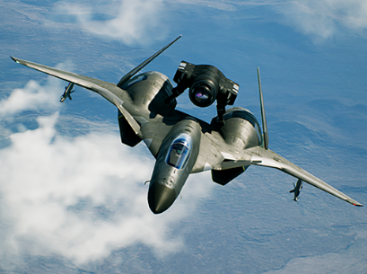Screenshot do jato ADFX-01 Morgan de Ace Combat 7: Skies Unknown