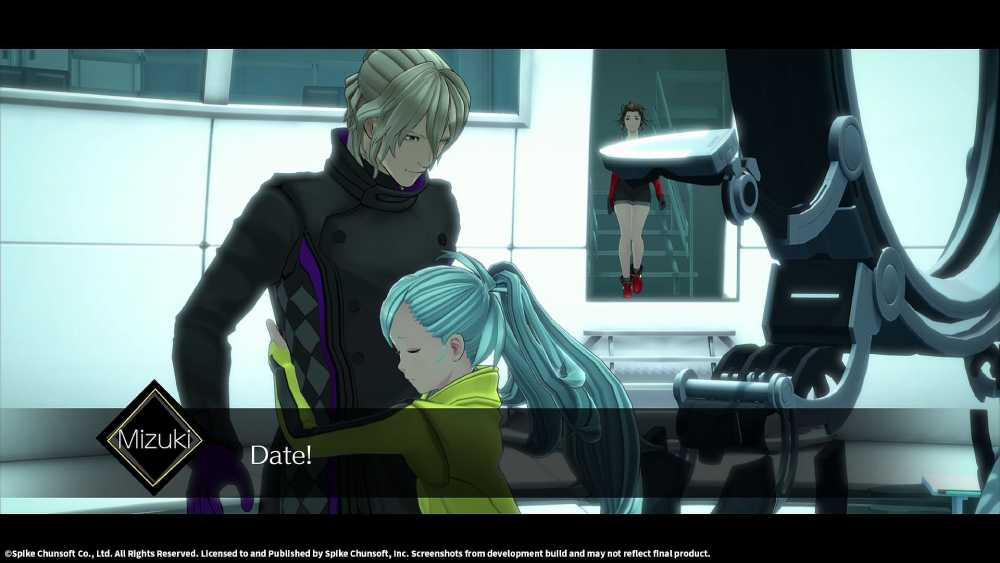 Screenshot de AI: The Somnium Files
