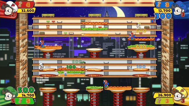 Screenshot de BurgerTime Party!