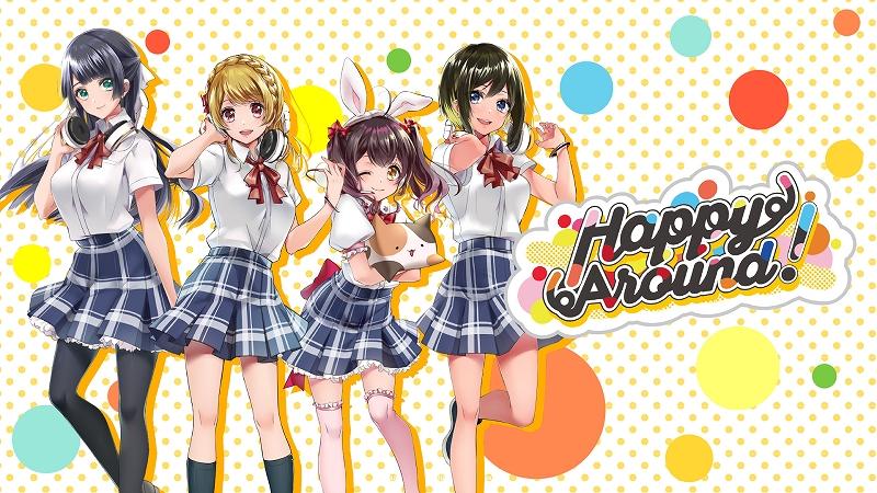 Ilustrações de personagens de D4DJ