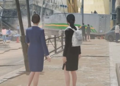 Screenshot da versão para Nintendo Switch de Disaster Report 4 Plus: Summer Memories