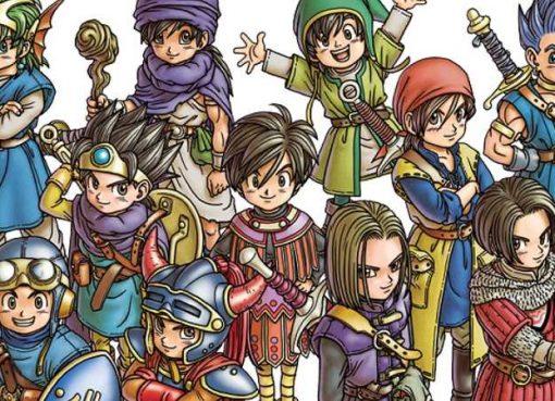 Ilustração de Dragon Quest