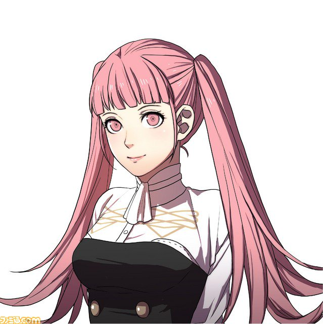 Arte da personagem Hilda de Fire Emblem: Three Houses