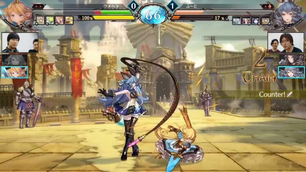 Screenshot de Granblue Fantasy Versus