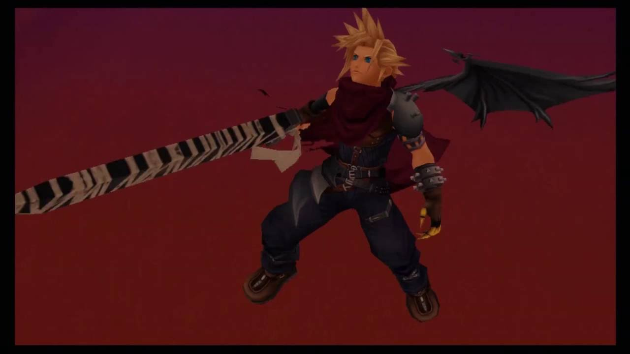Cloud Strife em Kingdom Hearts