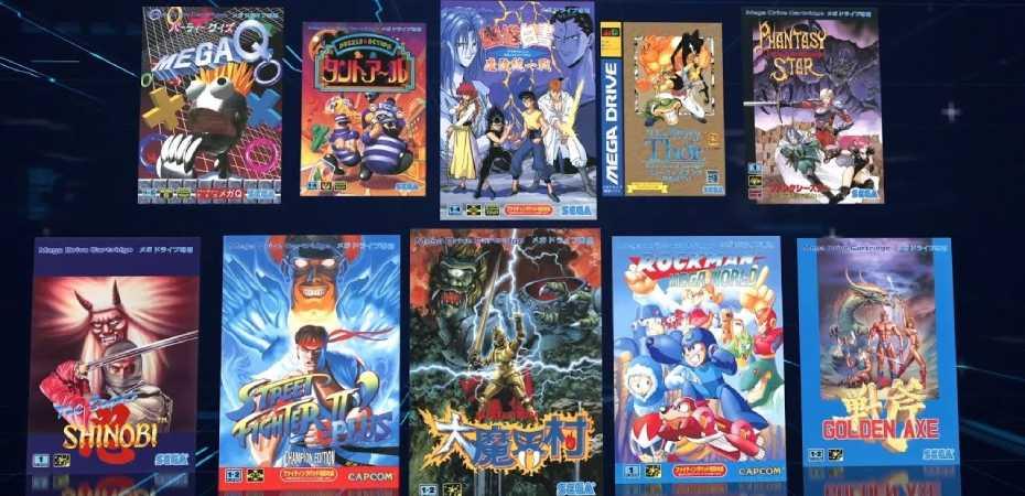 Mega Drive Mini tem sua lista de jogos atualizada