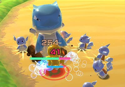 Screenshot de Pokémon Rumble Rush