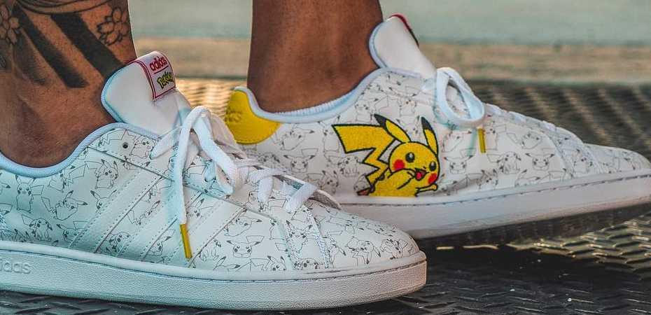 Adidas lançará tênis de <i>Pokémon</i> com estampas de Pikachu e Squirtle