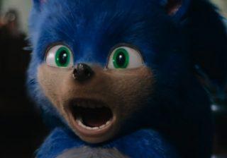 Captura de tela do trailer de Sonic: O Filme