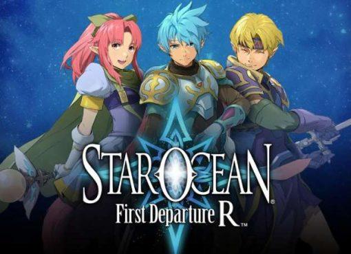 Imagem promocional de Star Ocean: First Departure R