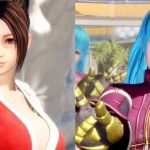 Screenshots de Mai Shiranui e Kula Diamond em Dead or Alive 6