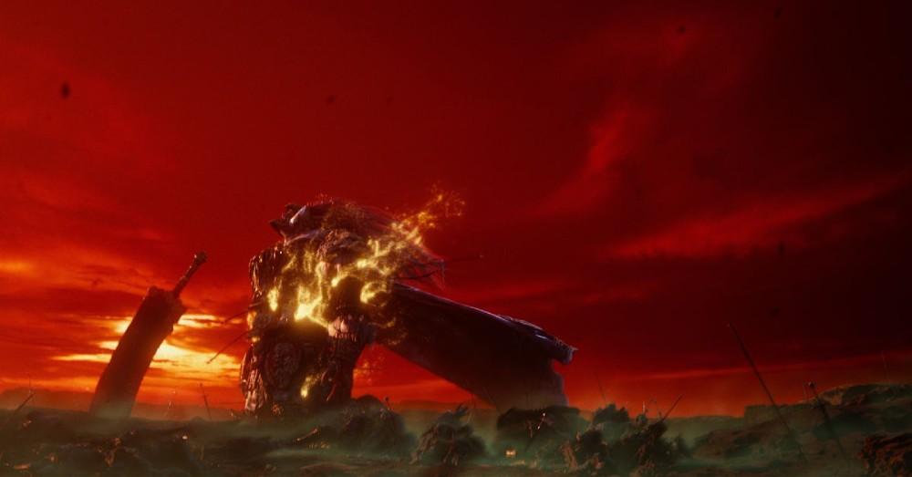 Captura de tela do primeiro trailer de Elden Ring