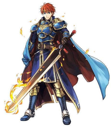 Ilustração de personagem de Fire Emblem Heroes