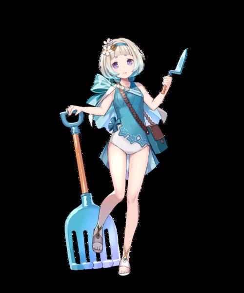 Ilustração da personagem Ylgr para Fire Emblem Heroes