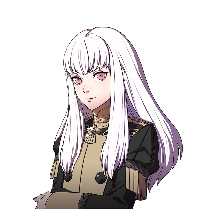 Arte da personagem Lysithea de Fire Emblem: Three Houses