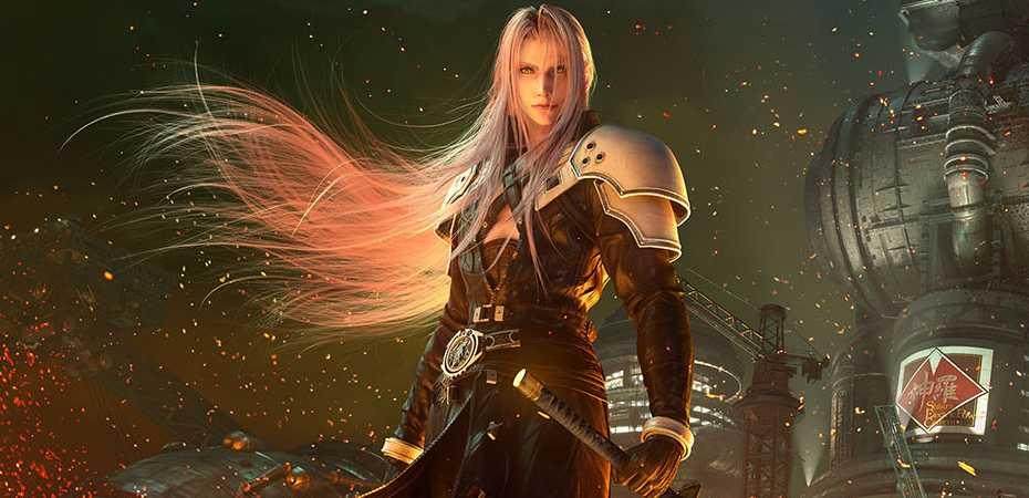 Imagem de Sephiroth em Final Fantasy VII Remake