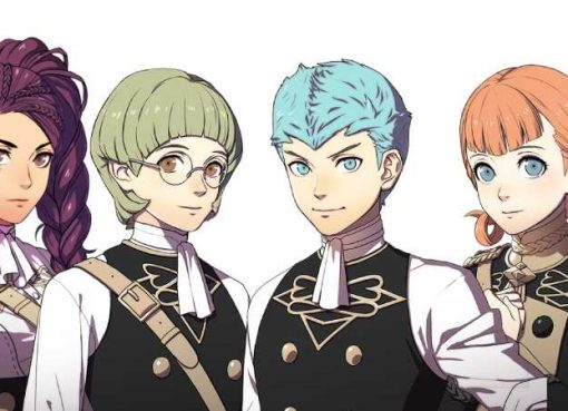Arte de personagens de Fire Emblem: Three Houses