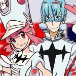 Arte de personagens de Kill la Kill: If