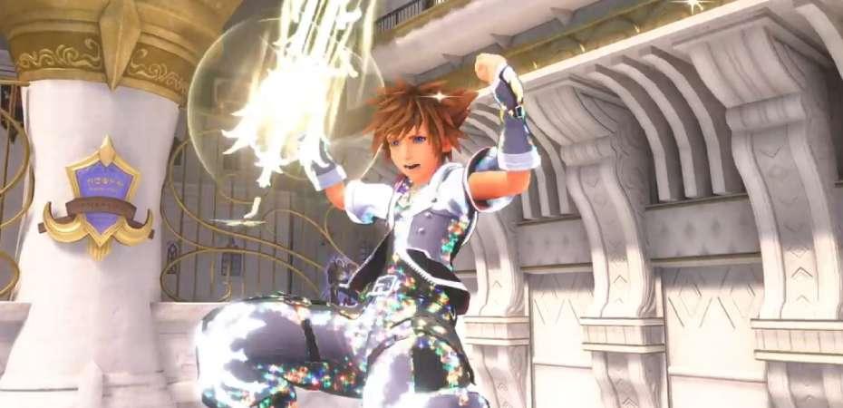 Screenshot da DLC Re:Mind de Kingdom Hearts III