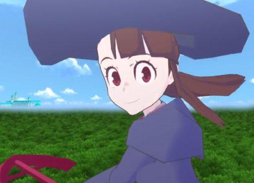 Captura de tela do teaser trailer de Little Witch Academia: VR Broom Racing