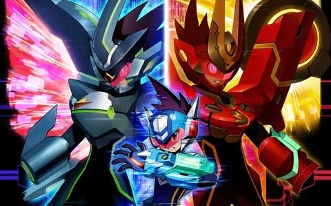 Arte de Mega Man Star Force 3