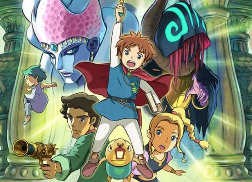 Arte de Ni no Kuni: Wrath of the White Witch Remastered