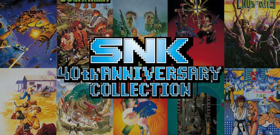 <i>SNK 40th Anniversary Collection</i> é lançado para PC