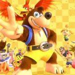 Captura de tela do trailer de anúncio de Banjo e Kazooie em Super Smash Bros. Ultimate