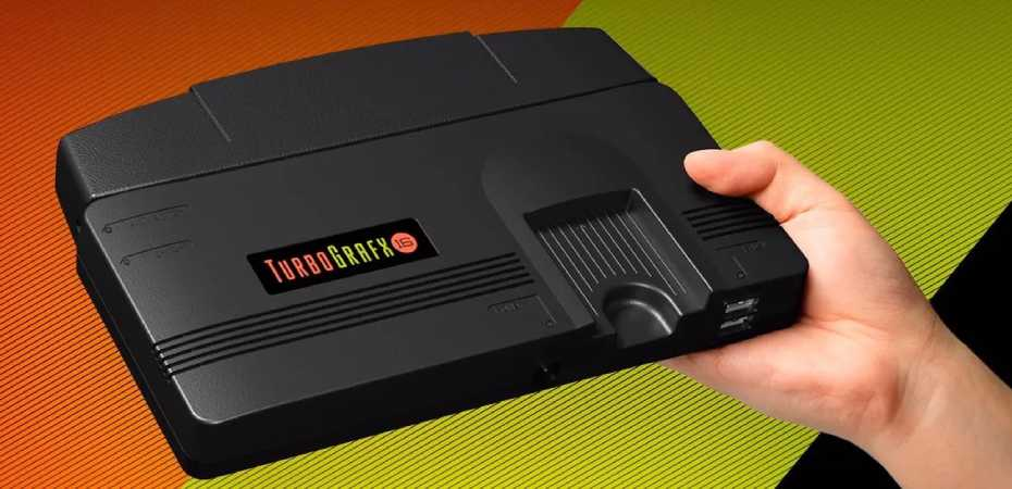 Imagem do TurboGrafx-16 mini