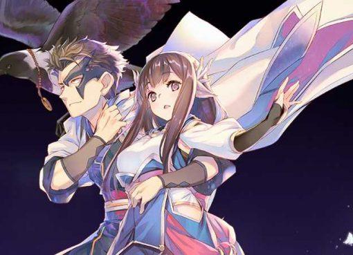 Ilustração do novo jogo da série Utawarerumono