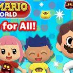 Imagem de colaboração entre Animal Crossing: Pocket Camp e Dr. Mario World