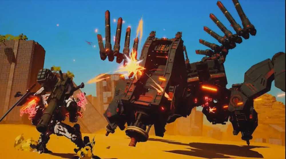 Screenshot de Daemon X Machina