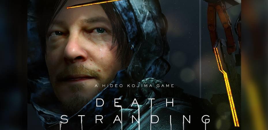 Arte de capa de Death Stranding