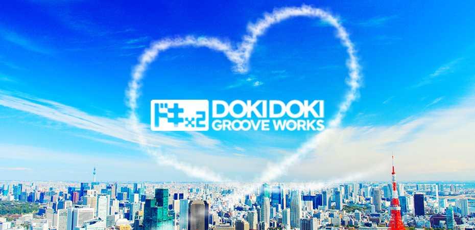 Logotipo do estúdio Dokidoki Groove Works