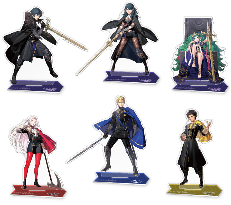 Figuras de acrílico de Fire Emblem: Three Houses