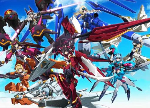 Arte de Infinite Stratos: Versus Colors