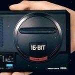 Imagem promocional do Mega Drive Mini