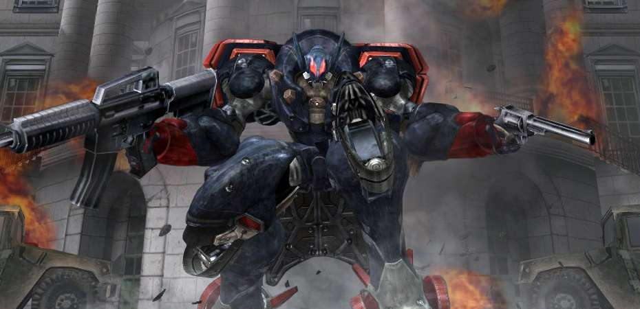 Screenshot de Metal Wolf Chaos XD