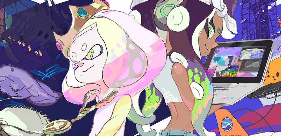 Arte de Splatoon 2