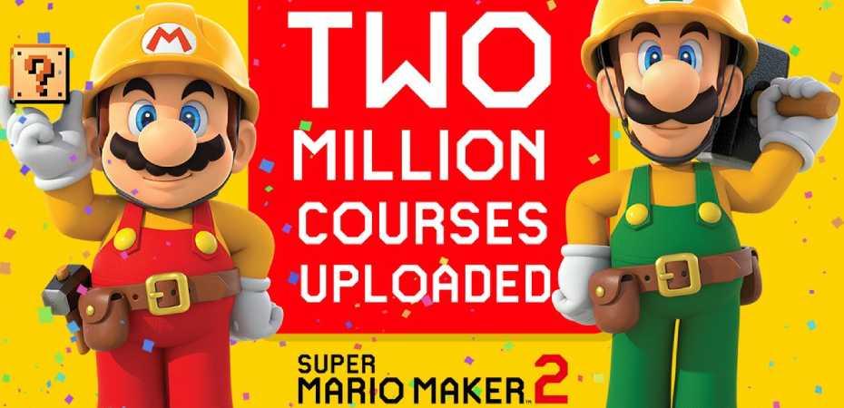 Imagem promocional de Super Mario Maker 2